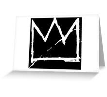 Crown (White) Greeting Card