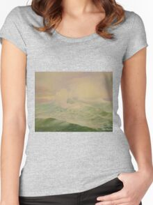 Ocean by Carrie Theroux Women's Fitted Scoop T-Shirt