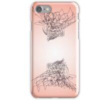 Peach Ravens iPhone Case/Skin
