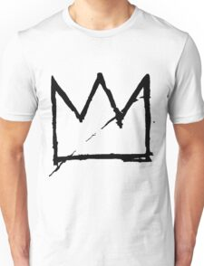 Crown (Black) Unisex T-Shirt