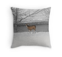 When Food Is Scarce Throw Pillow