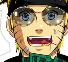 Lil Yatchy Naruto Money Sticker