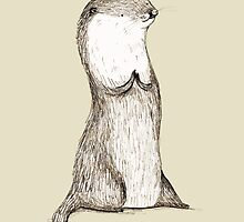 Sitting Otter by Sophie Corrigan