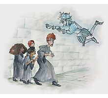 The Trio, Percy, and Peeves Photographic Print