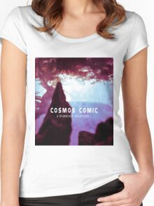 Cosmos Comic  Women's Fitted Scoop T-Shirt