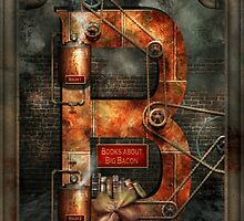 Steampunk - Alphabet - B is for Belts by Mike  Savad