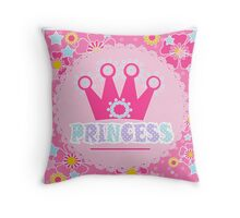 "For the little Princess. From the series ""Gifts for kids"" .  Throw Pillow"