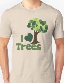 I love trees Unisex T-Shirt