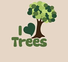 I love trees Womens Fitted T-Shirt