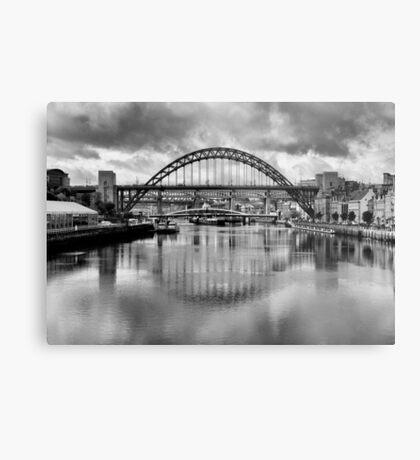 River Tyne Bridges Metal Print