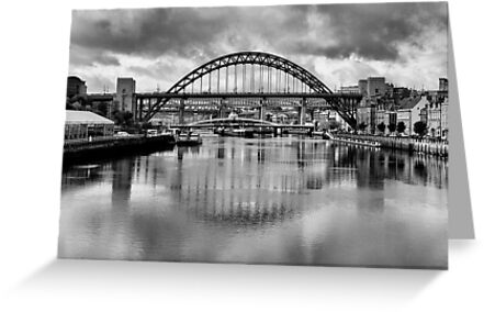 River Tyne Bridges by Trevor Kersley