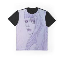 belladonna sad girl 3 Graphic T-Shirt