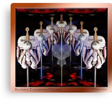 Revelation: Emanations of Decision Canvas Print