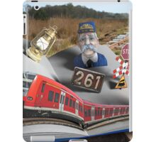Look What Popped Up on the Tracks iPad Case/Skin