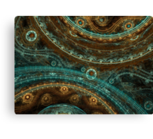 Ticking Canvas Print