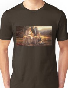 Jesus and the Woman at the Well Unisex T-Shirt