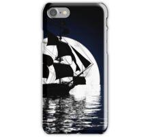 Moonlit Ship iPhone Case/Skin