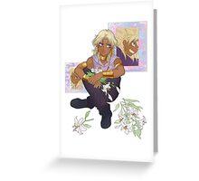 Yu-Gi-Oh! - Marik Ishtar Greeting Card