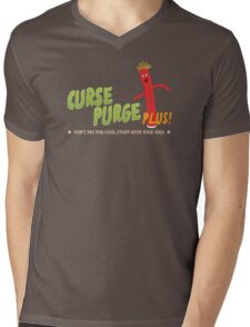 Curse Purge Plus! Mens V-Neck T-Shirt