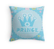 "For the little Prince . From the series ""Gifts for kids"" . Throw Pillow"