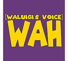 Wah Waluigi Voice Photographic Print