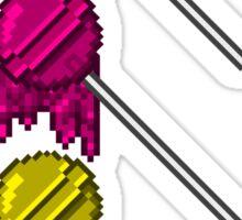Pixel Pops Sticker