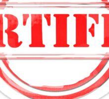 Certified Nerd Sticker
