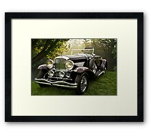 1935 Dusenberg SJ Convertible Coupe Framed Print