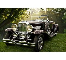 1935 Dusenberg SJ Convertible Coupe Photographic Print