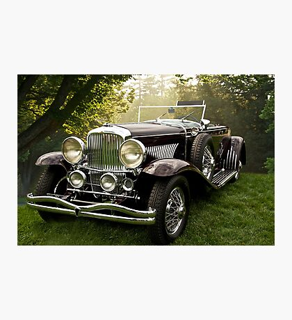 1935 Dusenberg SJ Convertible Coupe Photographic Print