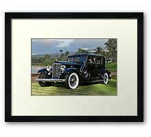 1933 Packard Super 8 Sedan Framed Print