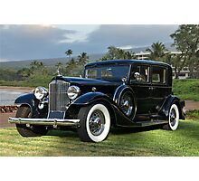 1933 Packard Super 8 Sedan Photographic Print