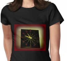 DICE CLOCK Womens Fitted T-Shirt