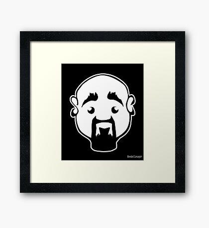 Steve - The black collection  Framed Print