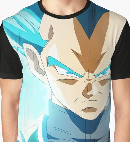 SSj Blue Geets Graphic T-Shirt