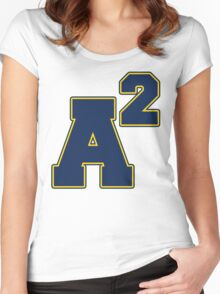 A Squared Women's Fitted Scoop T-Shirt
