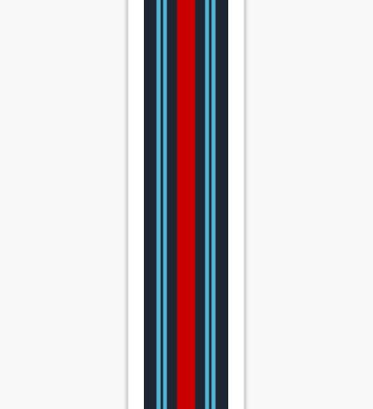 "Racing Livery ""Martini style"" Sticker"