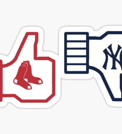 Red Sox Sticker