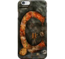 Steampunk - Alphabet - C is for Chain iPhone Case/Skin