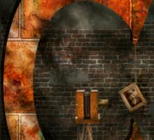 Steampunk - Alphabet - C is for Chain Sticker