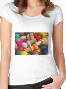 bottle caps Women's Fitted Scoop T-Shirt
