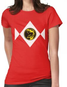 mighty morphin power ranger Womens Fitted T-Shirt