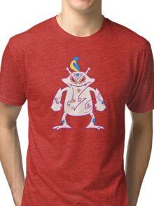 Electabuzz Popmuerto | Pokemon & Day of The Dead Mashup Tri-blend T-Shirt