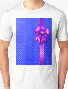 Purple Present Bow T-Shirt