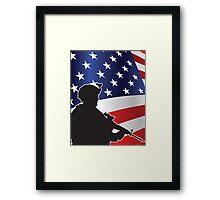 USA PATRIOT Framed Print
