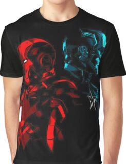 Captain Iron Graphic T-Shirt