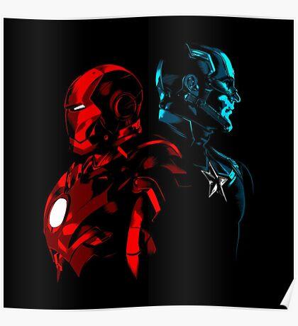 Captain Iron Poster