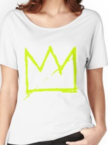 Crown (Green) Women's Relaxed Fit T-Shirt