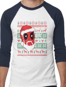 Santapool Men's Baseball ¾ T-Shirt