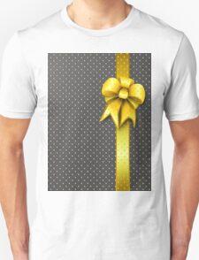 Gold Present Bow T-Shirt